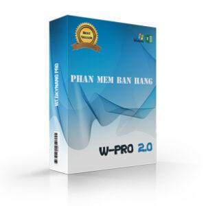 WPRO 2.0– Phần mềm kho, bán hàng, công nợ, lãi lỗ