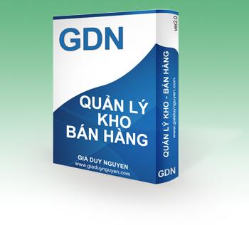 Phần mềm quản lý kho bán hàng GM - Sales