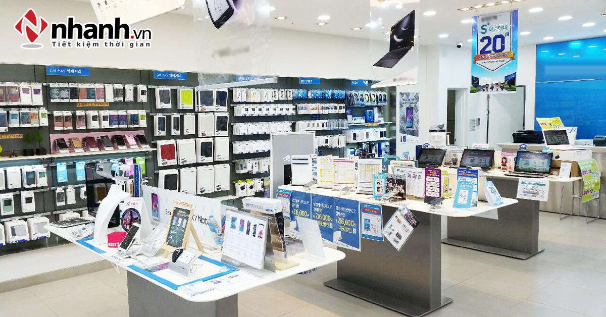 Phần mềm quản lý shop điện thoại, điện máy - Nhanh.vn