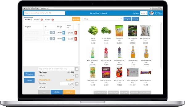 Phần mềm Suno - quản lý bán hàng tạp hoá