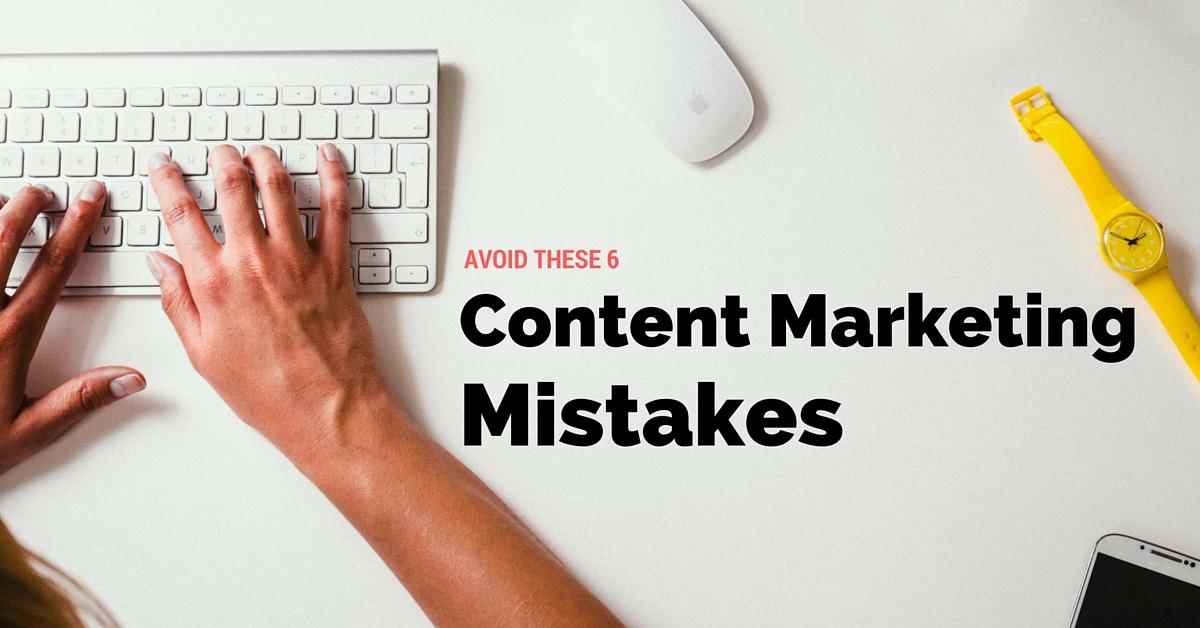 6 sai lầm phổ biến khi viết content marketing sản phẩm