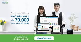 Phần mềm quản lý bán hàng POS KiotViet