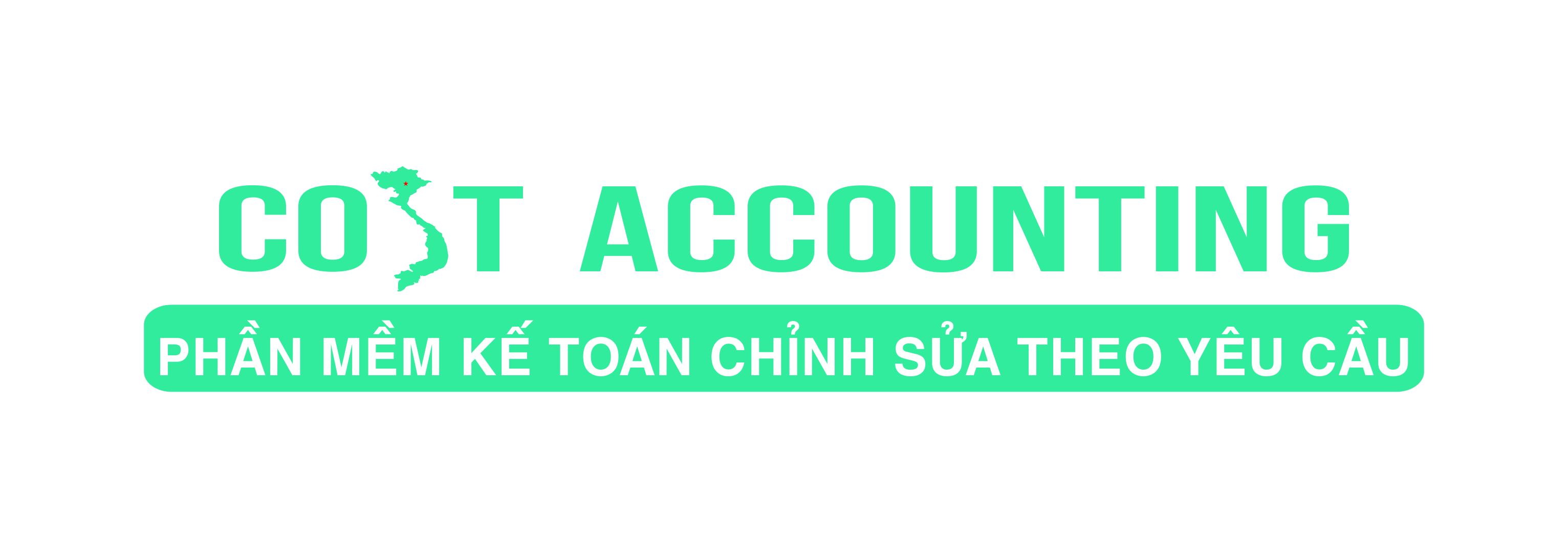 Phần mềm kế toán Cost Accounting