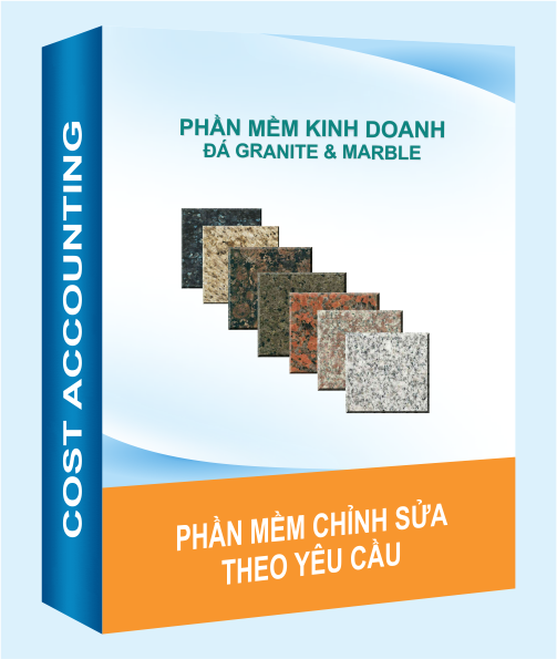 Phần mềm kế toán kiêm bán hàng quản lý kho đá Granite
