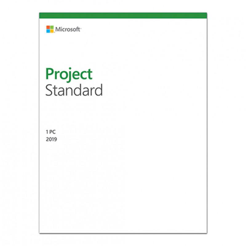 Phần mềm bản quyền/ Project Standard 2019 Win All Lng PKL Online DwnLd C2R NR (076-05785)