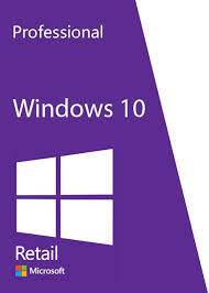 Key Microsoft Windows 10 Pro Retail