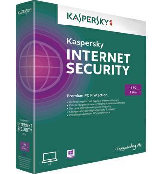 Các tính năng của phần mềm diệt virus Kaspersky